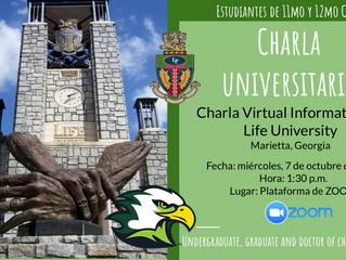 Charla Life University