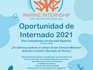 Oportunidad de Internado Marino...