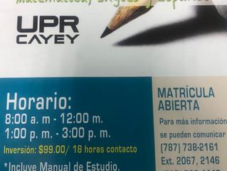 Repaso College Board -UPR Cayey