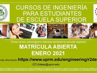 Estudiantes interesados en estudiar Ingeniería...