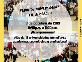 Feria de Universidad La Merced 2019