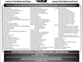 Feria Internacional de Universidades en P.R.