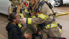 การช่วยเหลือผู้ได้บาดเจ็บทางเดินหายใจ จากการสูดสำลักควันไฟ