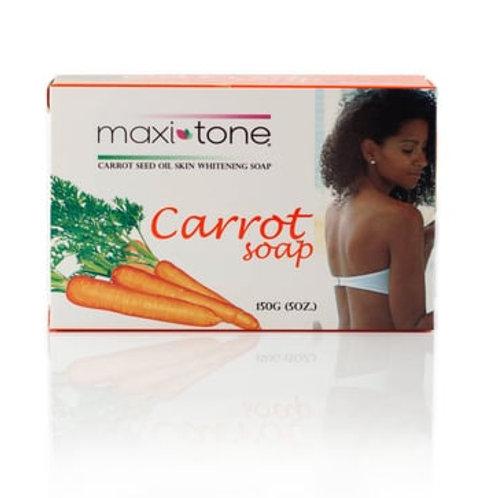 Maxi-Tone Carrot Seed Oil Skin Whitening Soap