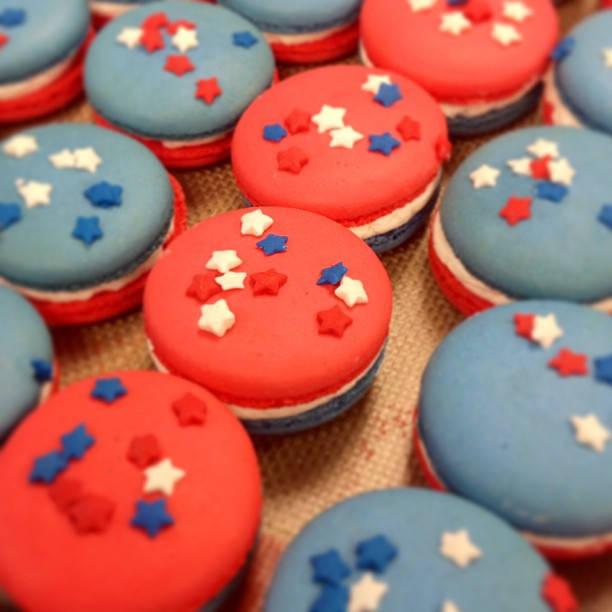 Patriotic Macarons
