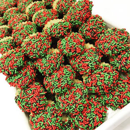 Holiday Colored Butter Cookies