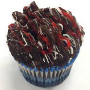 Black Bottom Raspberry Cheesecake