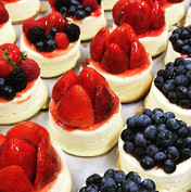 Just some fruit cheesecakes to start you