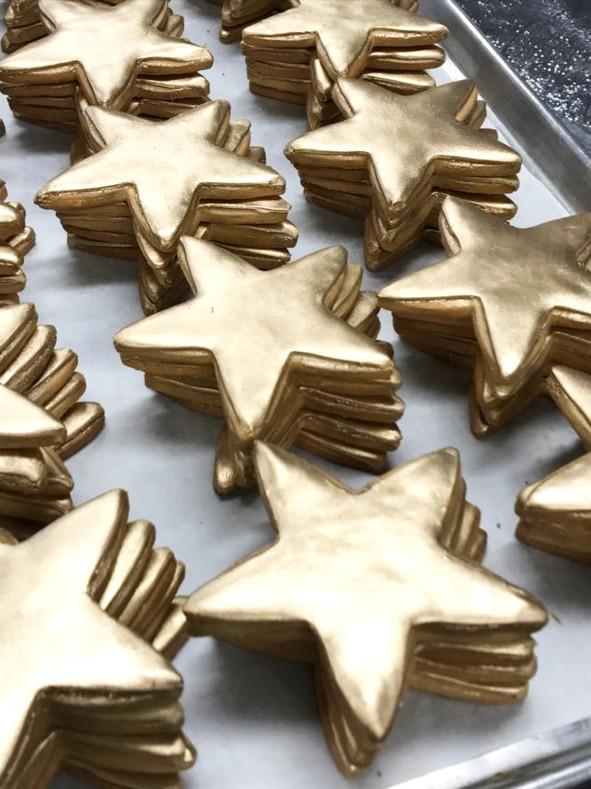 Custom Star Cookies