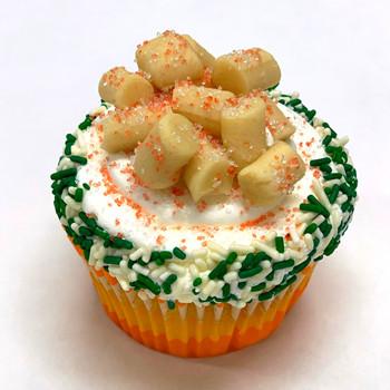 Sugar Cookie Dough Cupcake
