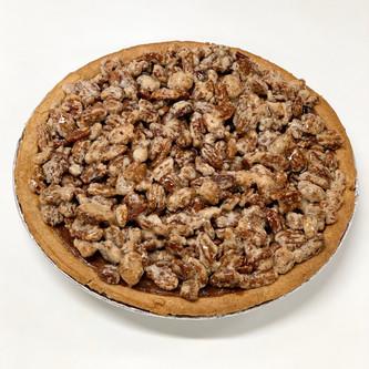 Pumpkin Candied Pecan Pie