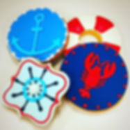 Nautical Cookie Favors! #cookiefavors #n