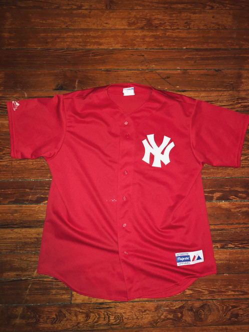 separation shoes f1d99 b63f0 Red New York Yankees Jersey