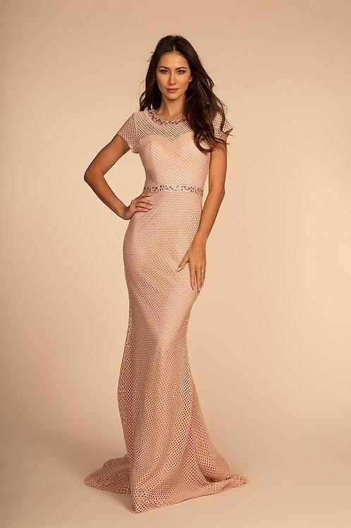 GLS612 Mesh Detail Dress
