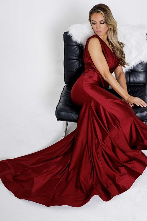 BabyFox700 V-Neck Gown