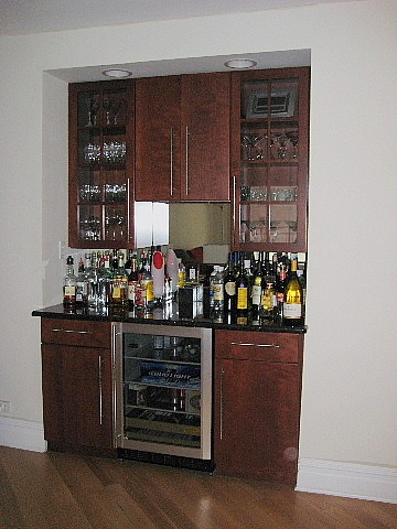 Built In Bar