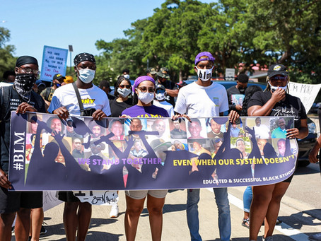 PVAMU Students Memorialize Sandra Bland with Seven-Mile Protest