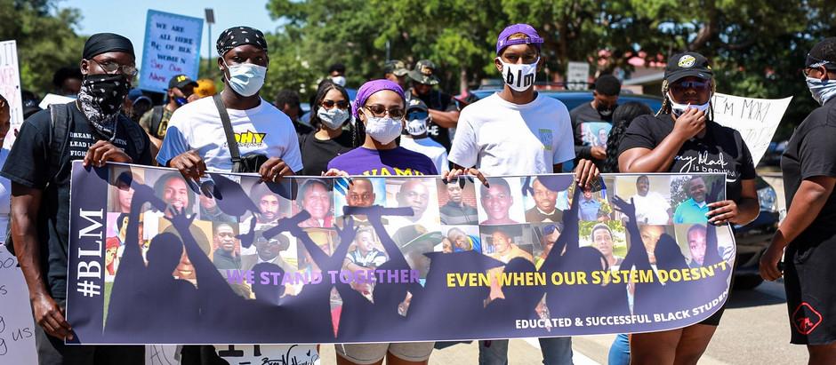 PVAMU Students Memorialize Sandra Bland with Seven-Mile Protest