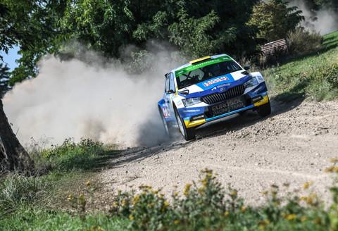 Julius Tannert startet beim Finale der European Rally Trophy in der Lausitz