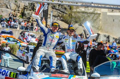 Julius Tannert gewinnt Rallye Korsika