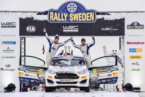 Podium bei Schweden-Debüt