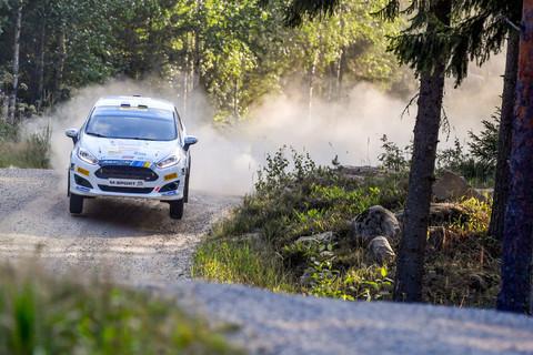 Tannert beweist sich bei Rallye Finnland