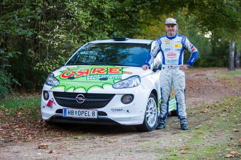 Start zur Rallye Erzgebirge für Berufsinitiative
