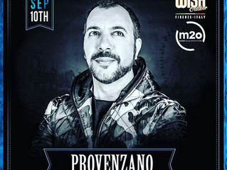 Provenzano al Wish Outdoor Festival
