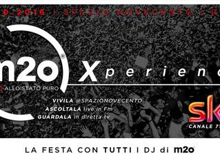22 Ottobre m2o xperience con Provenzano DJ @ spazio 900 ROMA!