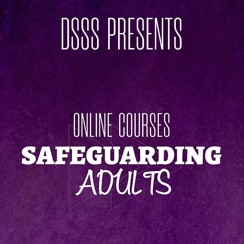 Pre-Recorded Training - Safeguarding Adults