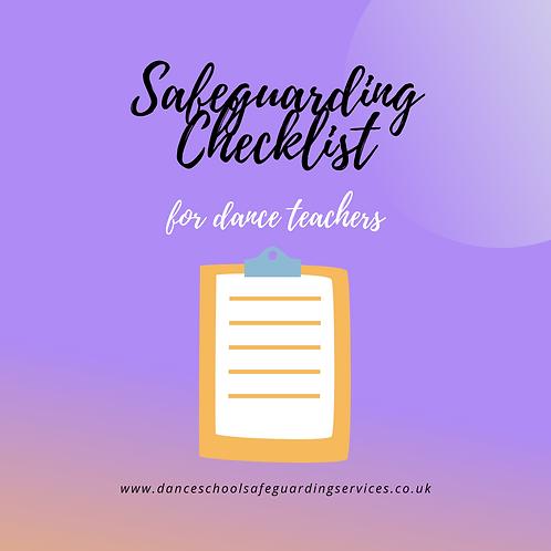 Basic Safeguarding Checklist