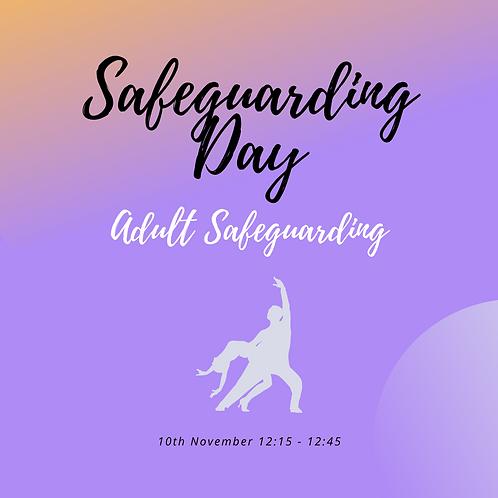 Adult Safeguarding Mini - 10th Nov