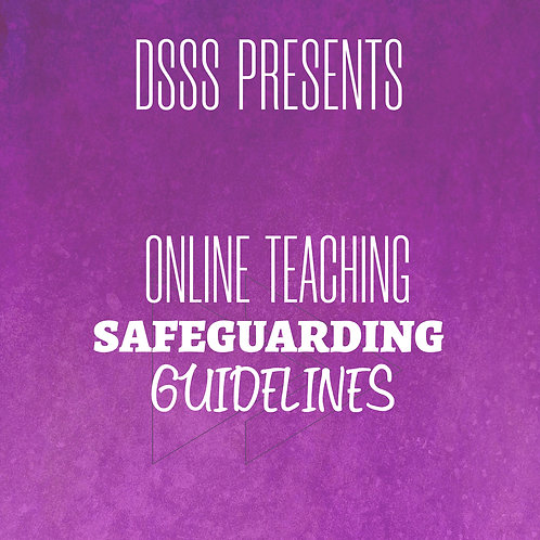 Online Teaching - Safeguarding Guidelines