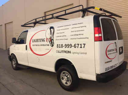Electrical Company Vehicle