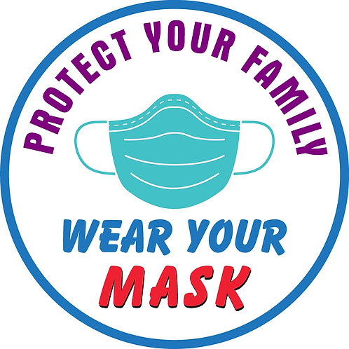 Social Distance -Protect Your Family