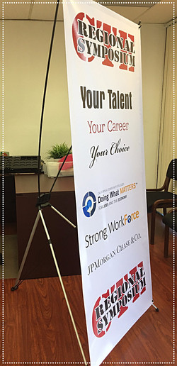 College event banner