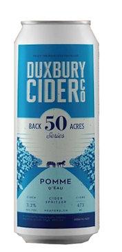 Back 50 Acres Series:  Duxbury Pomme D'Eau Cider Spritzer