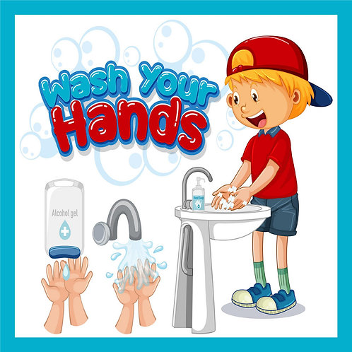 Wash Your Hands - Child