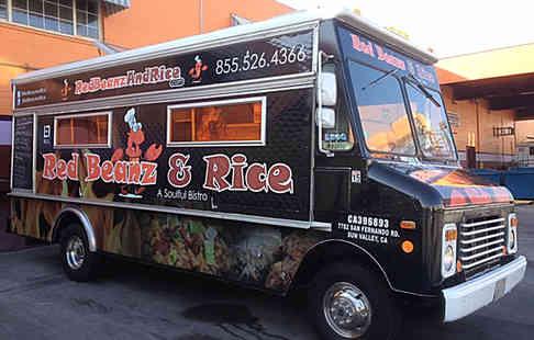 Full vehicle wrap - Food Truck