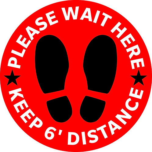Please Wait - Red