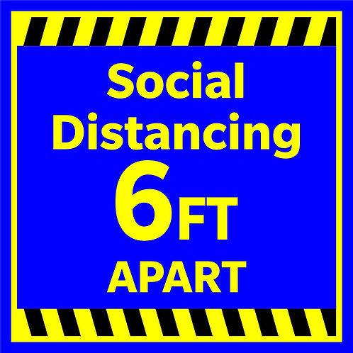 Social Distance - Blue