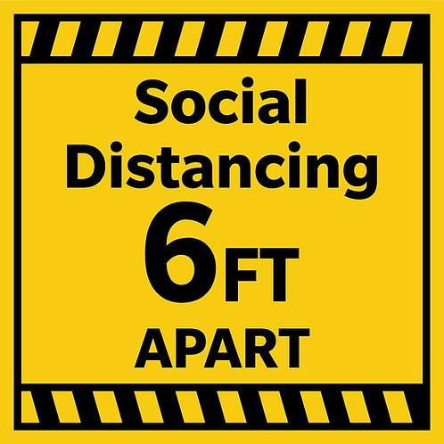 Social Distance - Yellow Gold