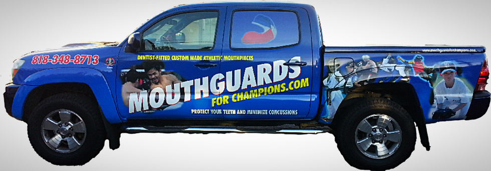 Full vehicle wrap for a Dentist