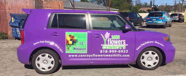 Flower Shop Van