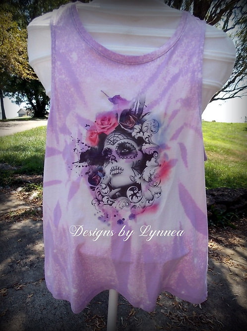 Lilac Day of the Dead Tank