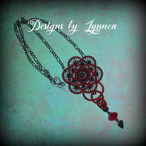 Tango Lace Necklace