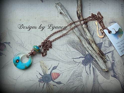 Turquoise and Copper Dream