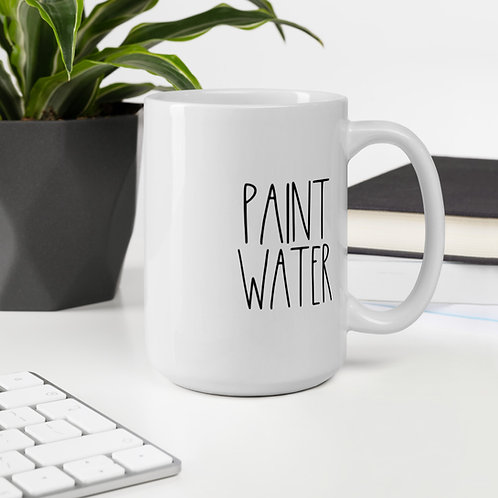 "Rae Dunn Inspired ""Paint Water"" Mug 11oz & 15oz"