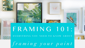 FRAMING 101: Everything You Need to Know About Framing Your Paint by Number Artwork