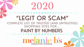 Paint by Number {PBN} LEGIT OR SCAM Websites I Trust for 2020